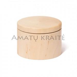 Medinė rankų darbo dėžutė, 4,8 cm x 6,0 cm