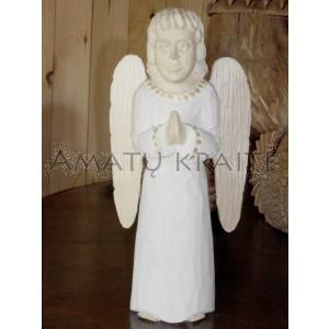 """Rankų darbo skulptūra """"Besimeldžiantis angelas"""", 27 cm"""