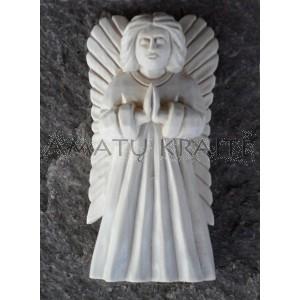 """Rankų darbo skulptūrėlė """"Tylos angelas"""", 12 cm"""