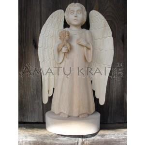 """Rankų darbo skulptūra """"Mano angelas"""", 43 cm"""