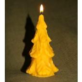 "Bičių vaško žvakė ""Eglė"" 13,5 cm x 6 cm"