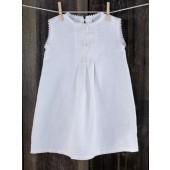 "Balto lino suknelė ""Perla"""