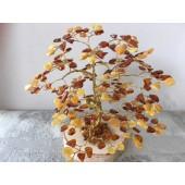 Gintarinis 240 lapelių medis, 16 cm x 16 cm