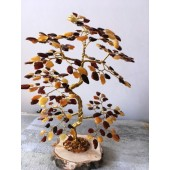 Gintarinis 220 lapelių medis, 21 cm x 15 cm