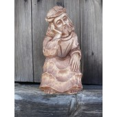 """Rankų darbo skulptūra """"Rūpintojėlis"""", 30 cm"""