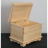 Natūralios medienos skrynia