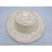 Iš šiaudų pinta skrybėlė, 32 cm