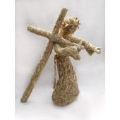"Skulptūra ""Jėzus, nešantis kryžių"""