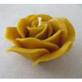"""Rankų darbo žvakė """"Rožė"""""""
