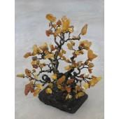 """Gintarinis medis """"Ąžuolas"""", 27 cm x 22 cm"""