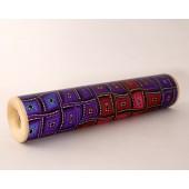 Rankų darbo kaleidoskopas 19,5 cm x 4 cm.