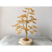 Gintarinis 225 lapelių medis, 21 cm x 15 cm