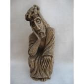 """Rankų darbo skulptūra """"Rūpintojėlis"""", 45 cm"""