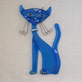 "Rankų darbo ""Kilmingoji katė"" 13,5 cm x 8,5 cm"