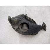 """Suvenyras """"Žuvis su varpeliu"""" 15 cm x 7 cm"""