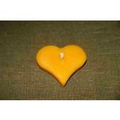 """Plaukiojanti žvakė """"Širdelė"""""""