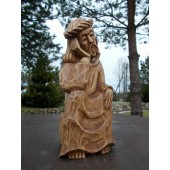 """Rankų darbo skulptūra """"Rūpintojėlis"""", 10 cm"""