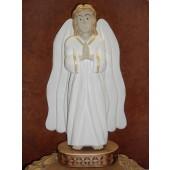 """Rankų darbo skulptūra """"Nuolankusis angelas"""", 35 cm"""