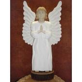 """Rankų darbo skulptūra """"Angelas sargas"""", 35 cm"""