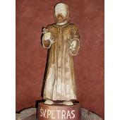 """Rankų darbo skulptūra """"Šv. Petras"""", 35 cm"""