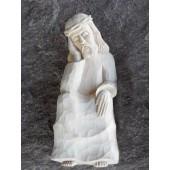 """Rankų darbo skulptūra """"Rūpintojėlis"""", 24 cm"""