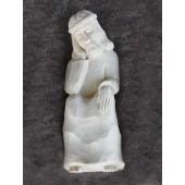 """Rankų darbo skulptūra """"Rūpintojėlis"""", 18 cm"""