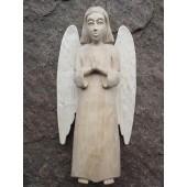 """Rankų darbo skulptūra """"Angelas"""". Aukštis - 25 cm."""