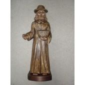 """Rankų darbo skulptūra """"Šventas Izidorius"""", 35 cm"""