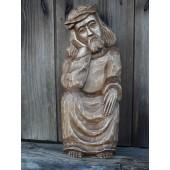 """Rankų darbo skulptūra """"Rūpintojėlis"""", 35 cm"""